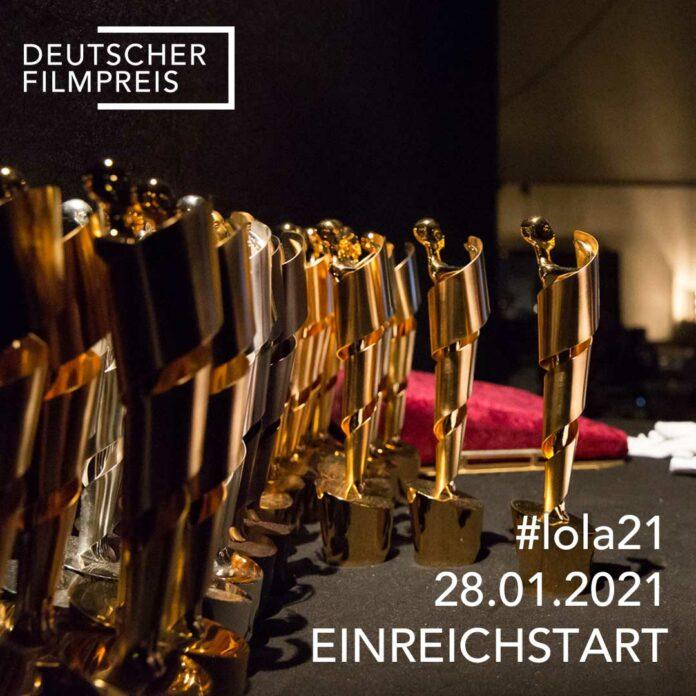 Startschuss für den Deutschen Filmpreis 2021: Filmanmeldungen ab sofort bis einschließlich 25. Februar möglich