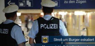 Ostbahnhof: Streit um Burger eskaliert - Mann rastet in Schnellrestaurant aus