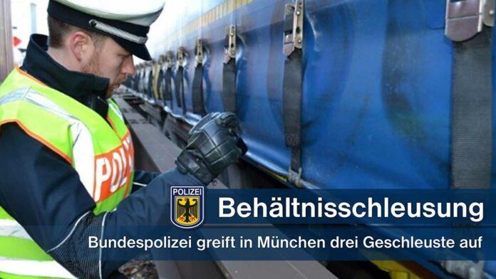 Unerlaubte Einreise mittels Güterzug - Verdacht der Schleusung