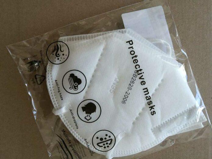 Umtauschaktion falsch deklarierter KN95-Masken