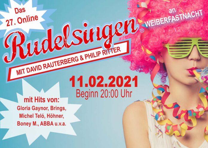 Online Rudelsingen bietet an Weiberfastnacht viele Hits zum Mitsingen bei der Party zu Hause an