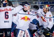 EHC Red Bull München: Sieg in Straubing