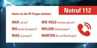 FW-M: 11.2. - Tag des europäischen Notrufs