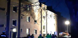 Schwabing-Freimann: Drei Verletzte bei Zimmerbrand