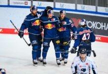 EHC Red Bull München: Sieg gegen Straubing - Red Bulls springen auf Platz zwei