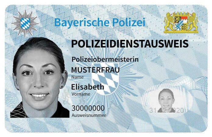 Neue Dienstausweise der Bayerischen Polizei vorgestellt