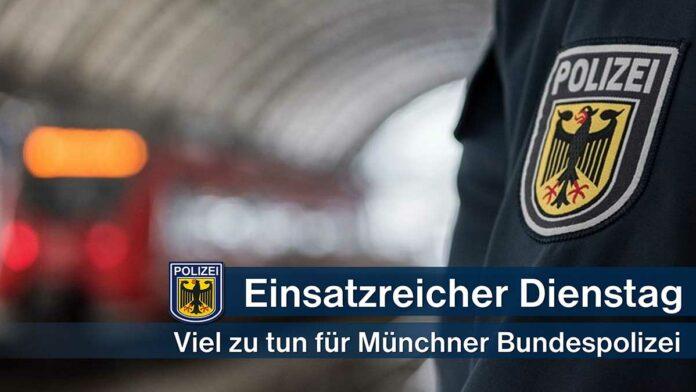 Einsatzreicher Dienstag für Bundespolizei