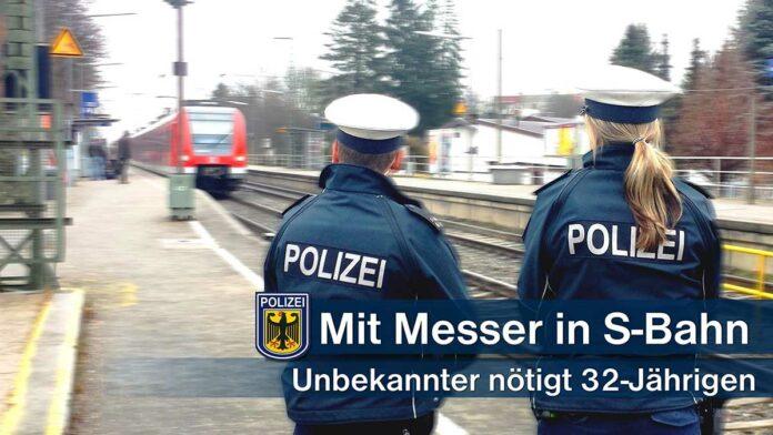 Mit Messer in der S-Bahn