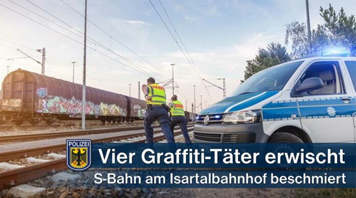 Bundespolizei erwischt Graffiti-Sprayer
