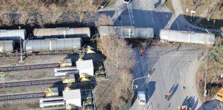 Zwei leere Kesselwagen entgleist / Kein Personenschaden – keine Gefahr für Bevölkerung