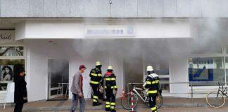 Bogenhausen: Rauchbombe sorgt für Großalarm