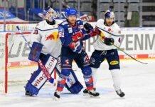 EHC Red Bulls ohne Punkte in Mannheim