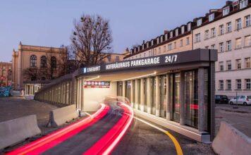 Parken direkt unter dem Altstadtring: Hofbräuhaus Parkgarage eröffnet
