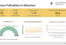 Update 04.03.: Entwicklung der Coronavirus-Fälle in München