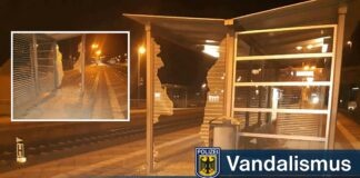 Vandalismus an S-Bahn-Haltepunkt