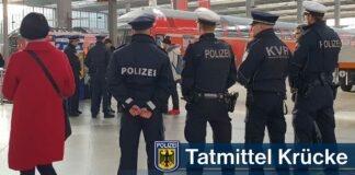 54-Jähriger schlägt im Hauptbahnhof mit Krücken zu