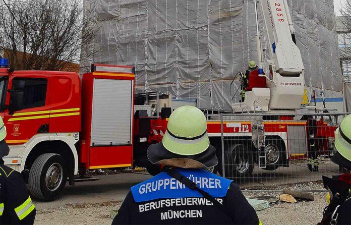 Feuerwehr München: Wind sorgt für Arbeit