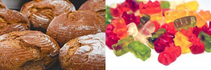 Mehr Brot und Süßigkeiten im Lockdown