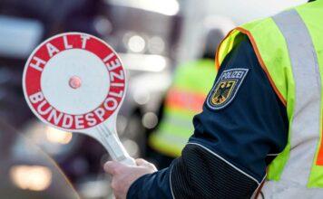 Geld- und Freiheitsstrafen - Bundespolizei verhaftet immer wieder Personen bei Grenzkontrollen
