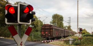 Entgleisung zweier Güterwaggons