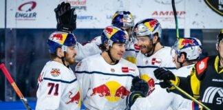 EHC Red Bulls in Torlaune: 8:1-Sieg in Krefeld