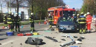 Sendling: Verkehrsunfall mit Überschlag