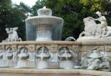 Sachbeschädigung an Brunnenanlagen