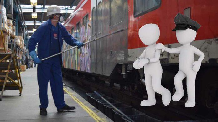 Graffitisprayer festgenommen - 25-Jähriger besprühete S-Bahn