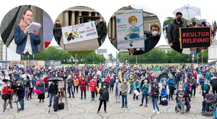Aufstehen für Kultur 2 - Kulturschaffende fordern Perspektiven
