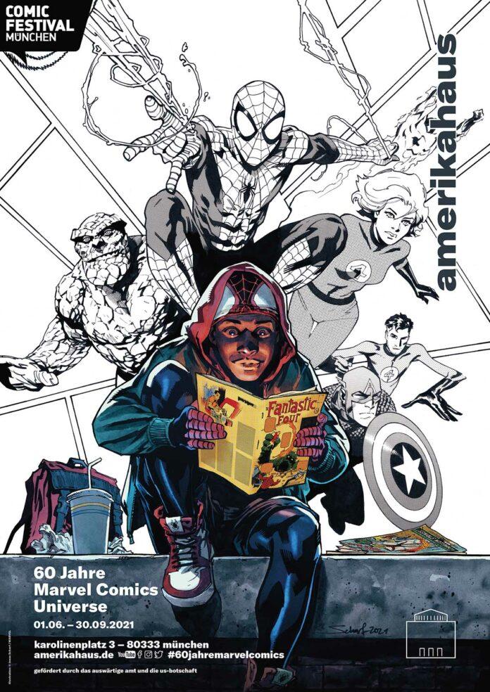 60 Jahre Marvel Comics Universe © Jonas Scharf MARVEL