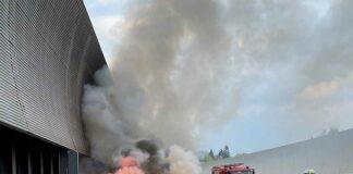 Fahrzeugbrand auf der A9 (Fröttmaning)