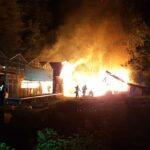 Bogenhausen: Brennende Gartenhütten
