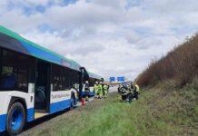 Feldkirchen: Brand im Motorraum eines Linienbusses