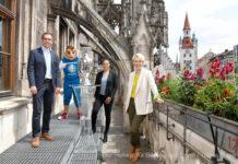 Trophy Tour in München: Der EM-Pokal ist in der Stadt