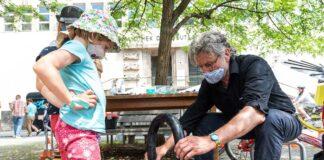 Pfingstferien-Tipp: ADAC Radl-Aktion für Kinder im Rahmen des Science Summer