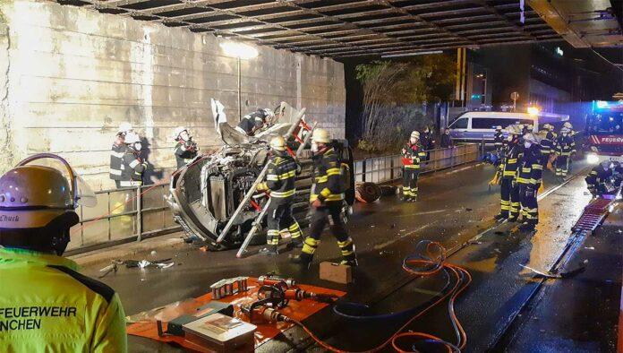 Ramersdorf-Perlach: 55-Jähriger bei Unfall leicht verletzt