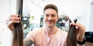 Red Bull München: Konrad Abeltshauser spendet Haare für den guten Zweck