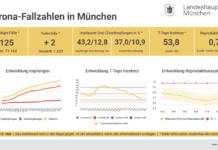 Update 18.05.: Entwicklung der Coronavirus-Fälle in München