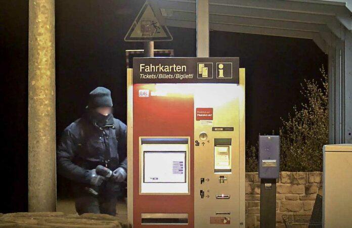 400.000 Euro Schaden bei über 60 Fahrausweisautomatenaufbrüchen verursacht