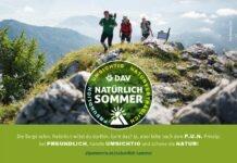 """Beginn der Wandersaison: DAV startet Kampagne """"Natürlich Sommer"""""""