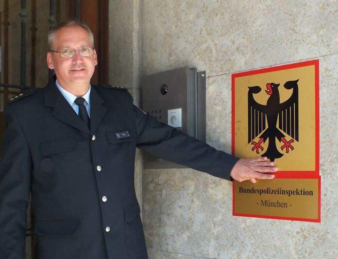 Polizeidirektor Michael Rupp neuer Leiter der Bundespolizeiinspektion München