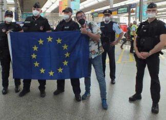 Deutsch-Französische Einsatzeinheit unterstützt Münchner Bundespolizei