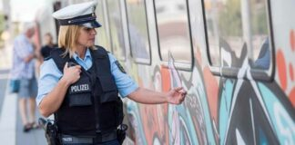 30-jähriger Graffitisprayer gefasst