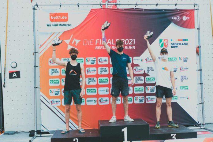 Deutsche Meisterschaft Speed 2021: Franziska Ritter und Linus Bader gewinnen in Bochum