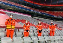 Münchner Rotes Kreuz für die EM-Spiele bereit