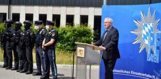 Neues Lasertrainingssystem der Bayerischen Polizei vorgestellt