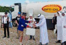 Ölbohrung auf der Theresienwiese