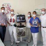 Neues Ultraschallgerät für die Nothilfe in Dachau