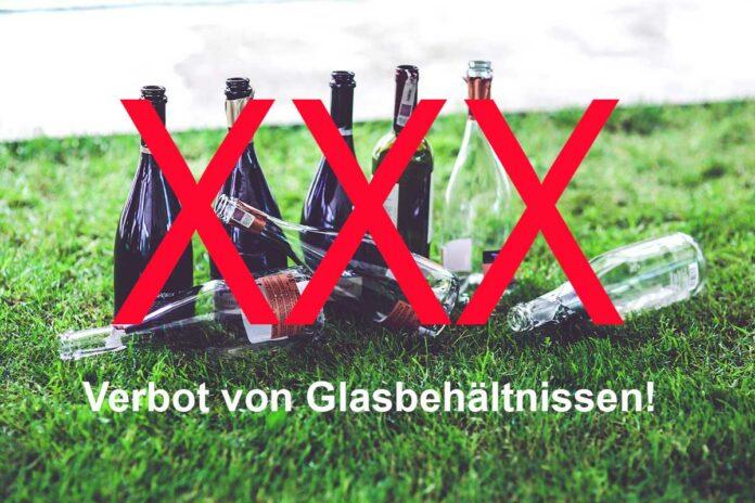 Nächtliches Verbot von Glasbehältnissen in der Türkenstraße
