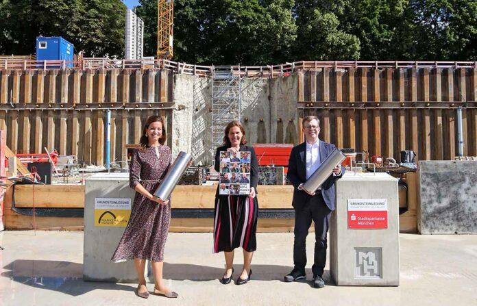 Elisabethplatz: Grundsteinlegung für neues Wohlfühl-Zentrum